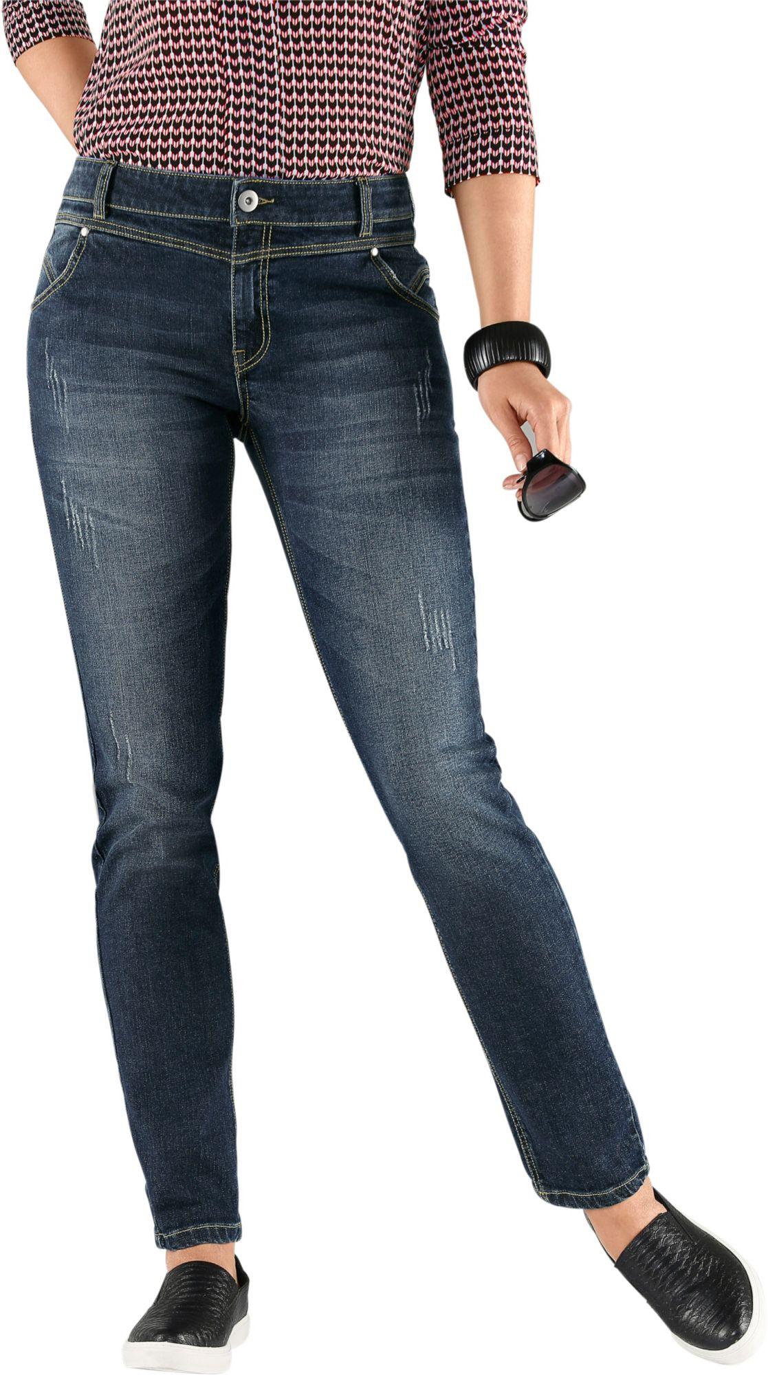 ALESSA W Alessa W. Jeans mit Used-Effekte