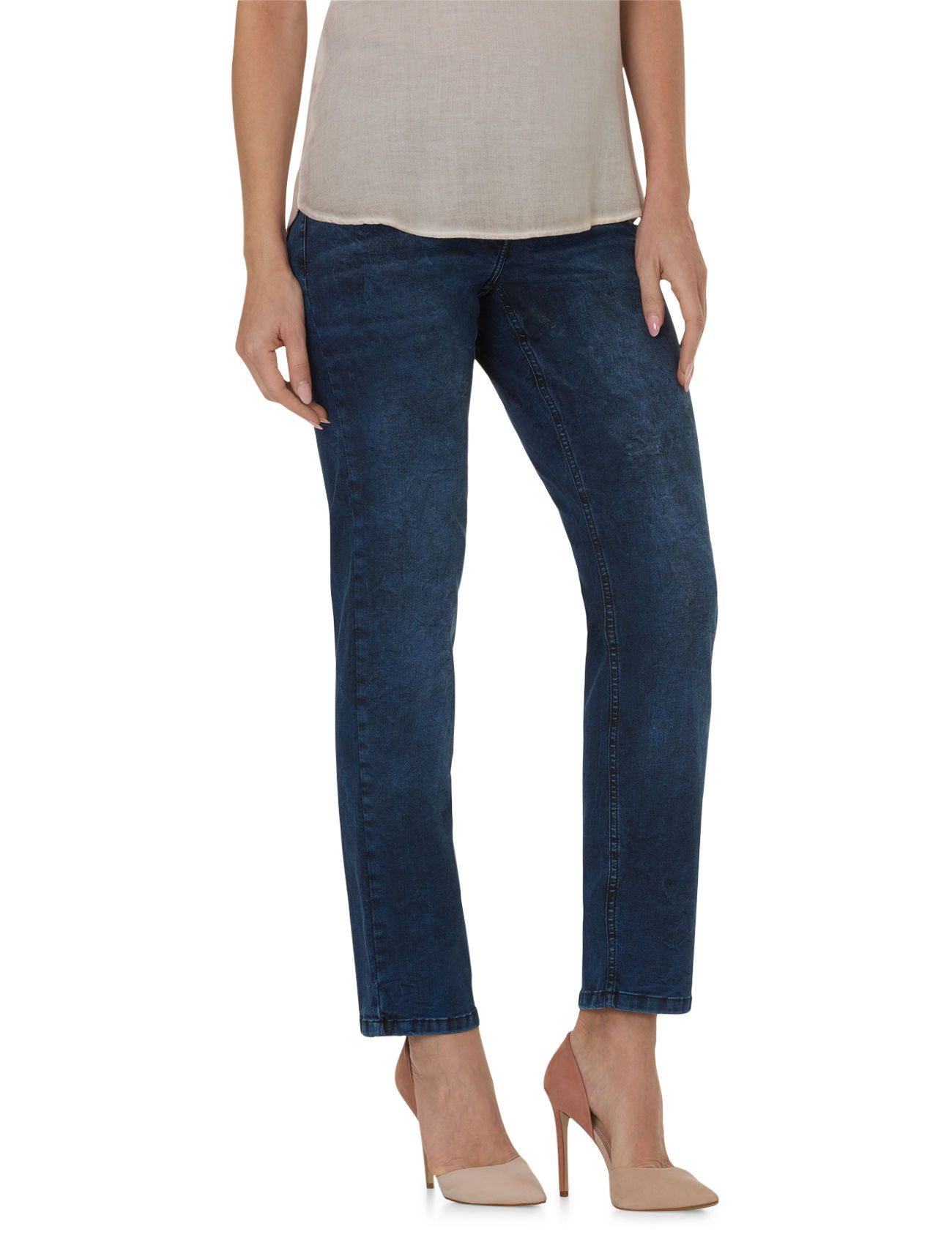 BETTY BARCLAY Basic Jeans mit verkürztem Bein Betty Barclay Dark Blue Denim - Blau