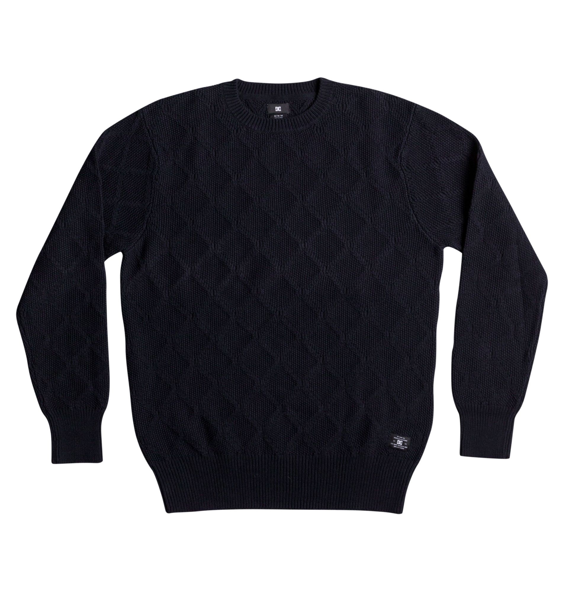 DC SHOES DC Shoes Diamant-Strick-Pullover »Solidify«