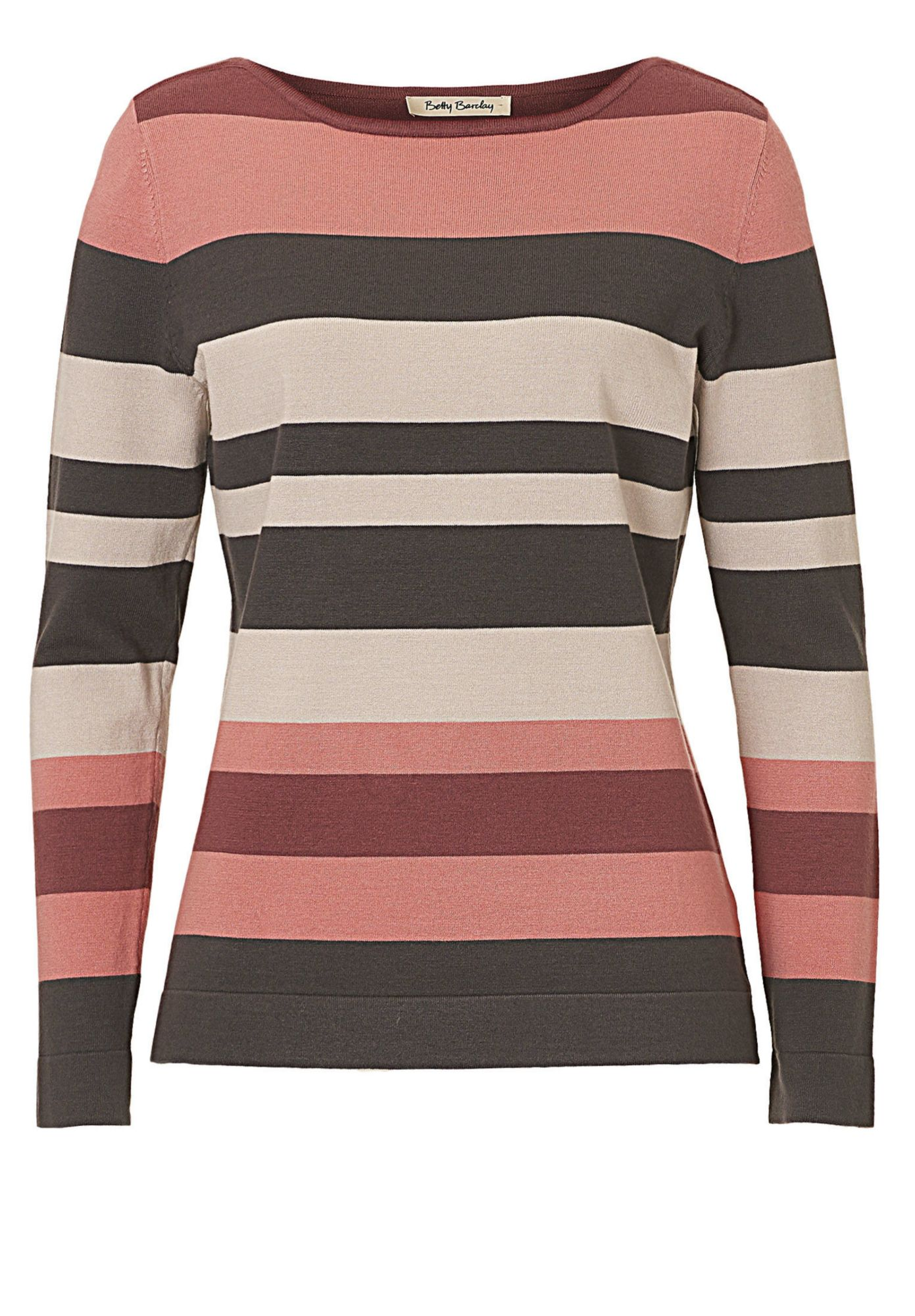 BETTY BARCLAY Betty Barclay Gestreifter Strickpullover