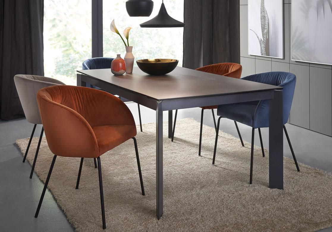 CONNUBIA BY CALLIGARIS connubia by calligaris Schalenstuhl »Rosie« CB/1901 mit softem Samtbezug