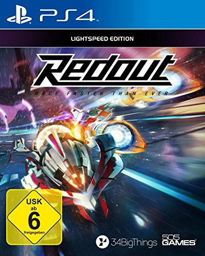 505 GAMES 505 Games Playstation 4 - Spiel »Redout«