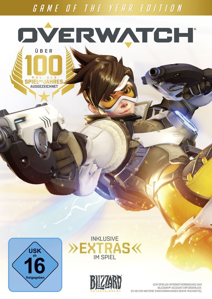 BLIZZARD Blizzard PC - Spiel »Overwatch - Game of the Year Edition«