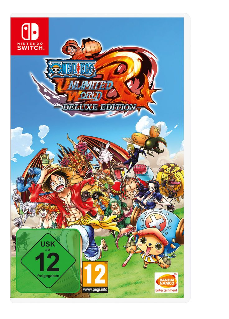 BANDAI Bandai Nintendo Switch - Spiel »One Piece: Unlimited World Red - Deluxe Edition«