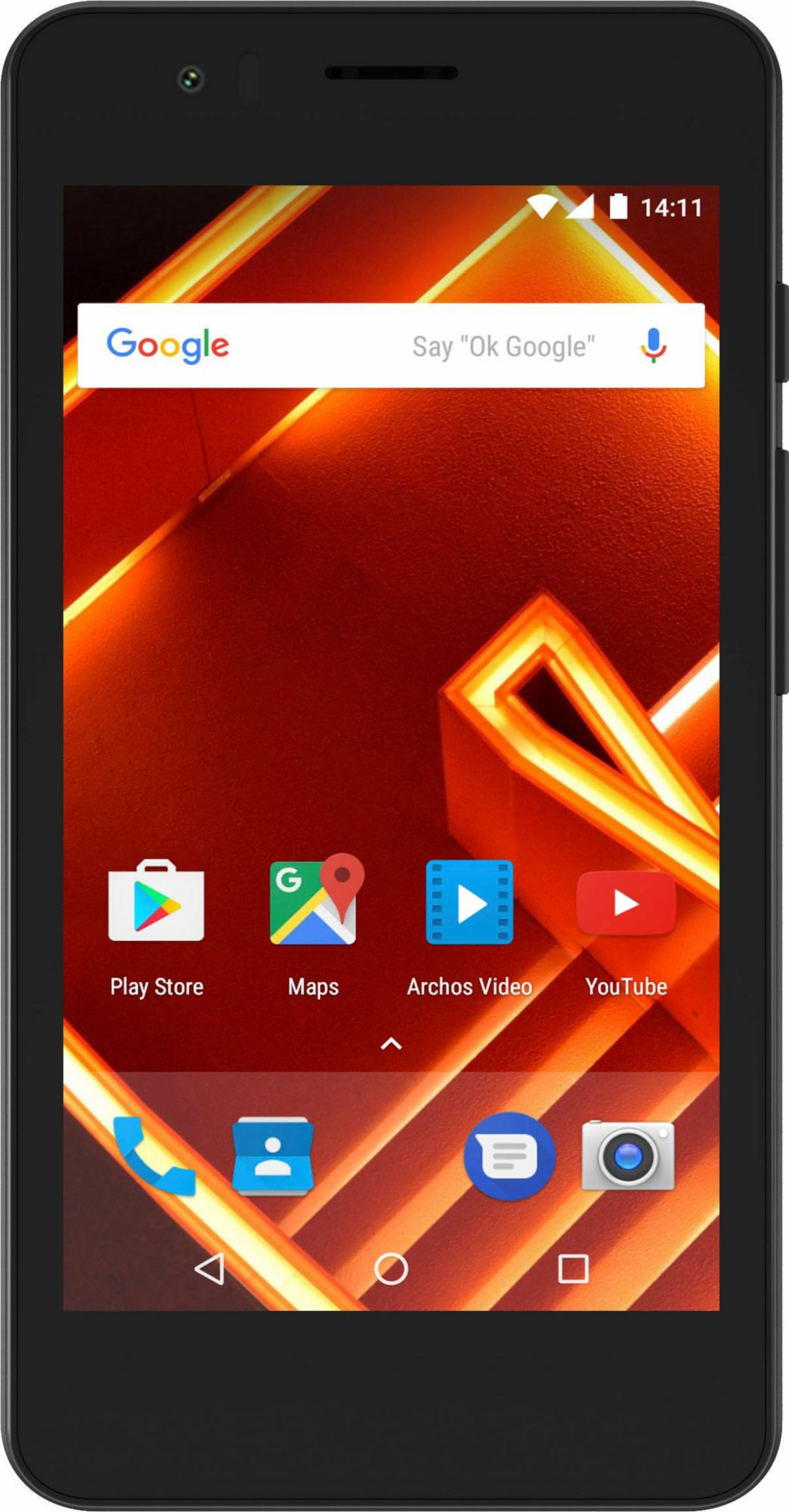 ARCHOS Archos Access 40 - 4G Smartphone, 10,16 cm (4 Zoll) Display, LTE (4G), Android 7.0 (Nougat)