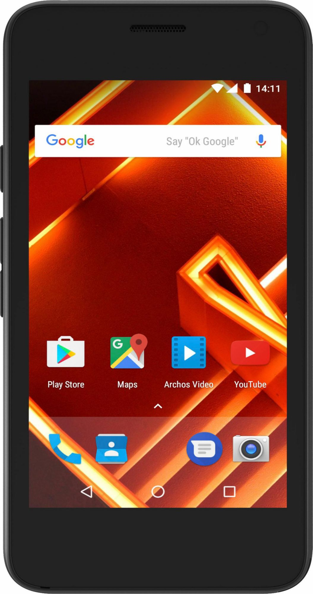 ARCHOS Archos Access 40 - 3G Smartphone, 10,16 cm (4 Zoll) Display, Android 7.0 (Nougat), 5,0 Megapixel