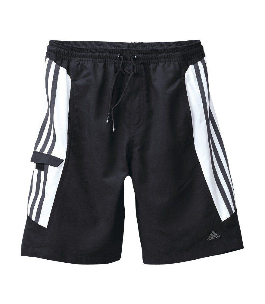 ADIDAS PERFORMANCE Adidas, Badeshorts mit 3 Streifen-Optik