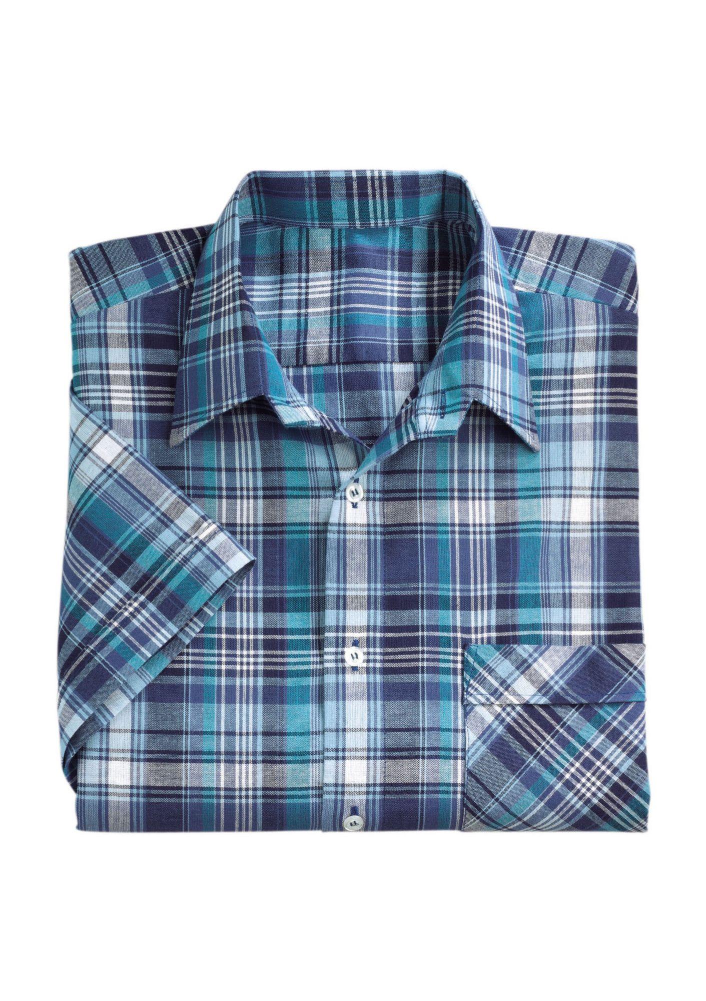 CLASSIC Classic Karo-Hemd aus reiner Baumwolle