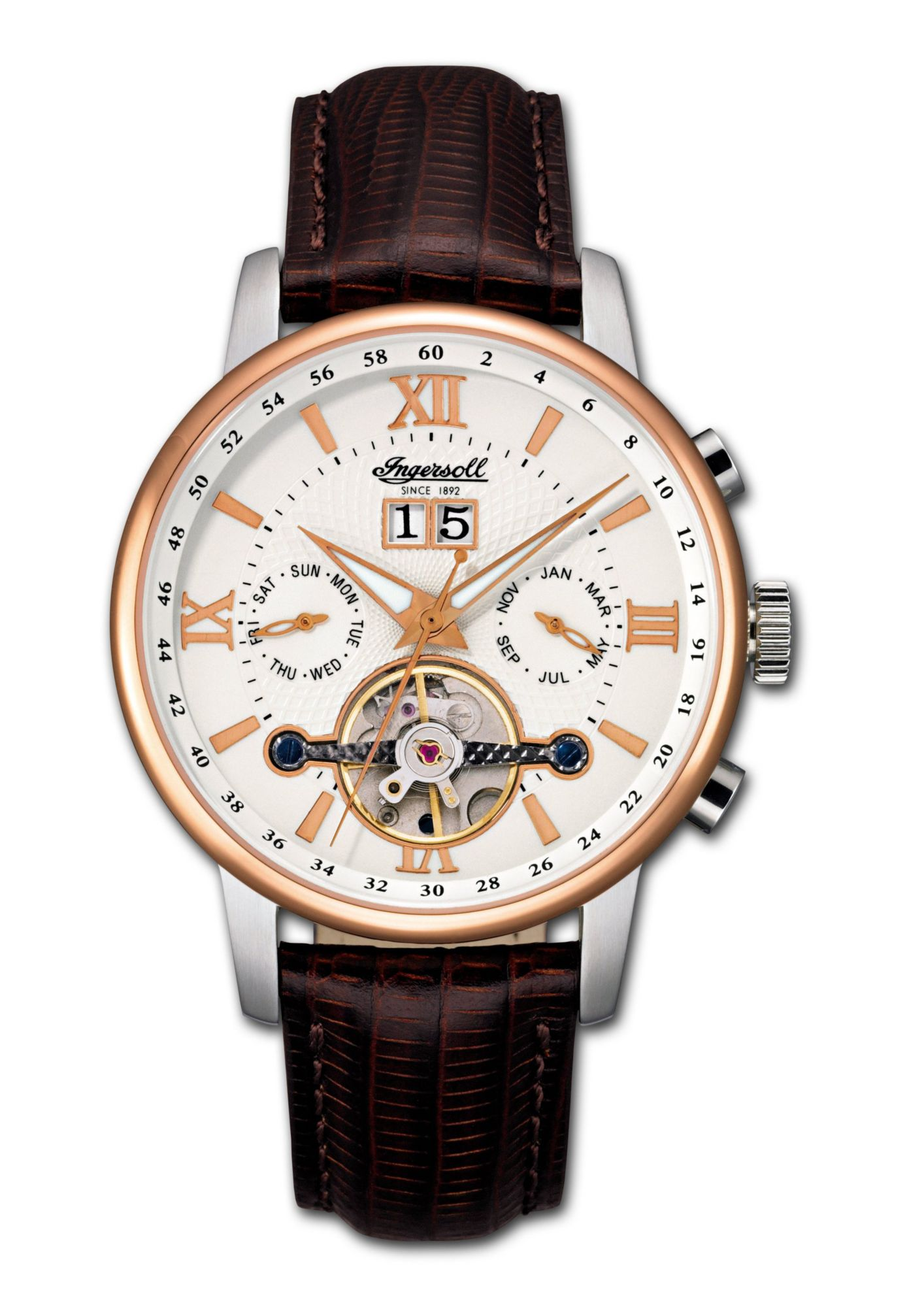 INGERSOLL Ingersoll Automatikuhr »Grand Canyon IV, IN6900RWH«