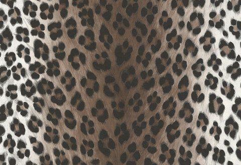 LIVINGWALLS A.S. Creation Papiertapete Dekora Natur Leopard Weiß