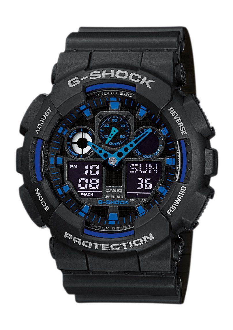 CASIO G SHOCK Casio G-Shock Chronograph »GA-100-1A2ER«