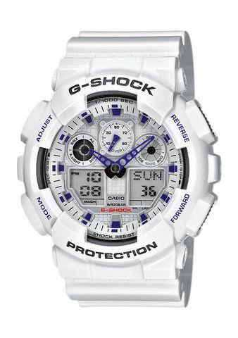 CASIO G SHOCK Casio G-Shock Chronograph »GA-100A-7AER«