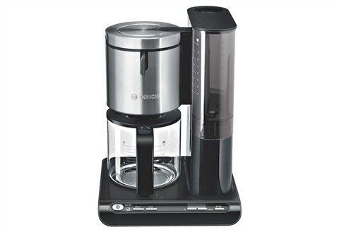 BOSCH Bosch Kaffeemaschine »Styline TKA8631/TKA8633«, mit Glaskanne