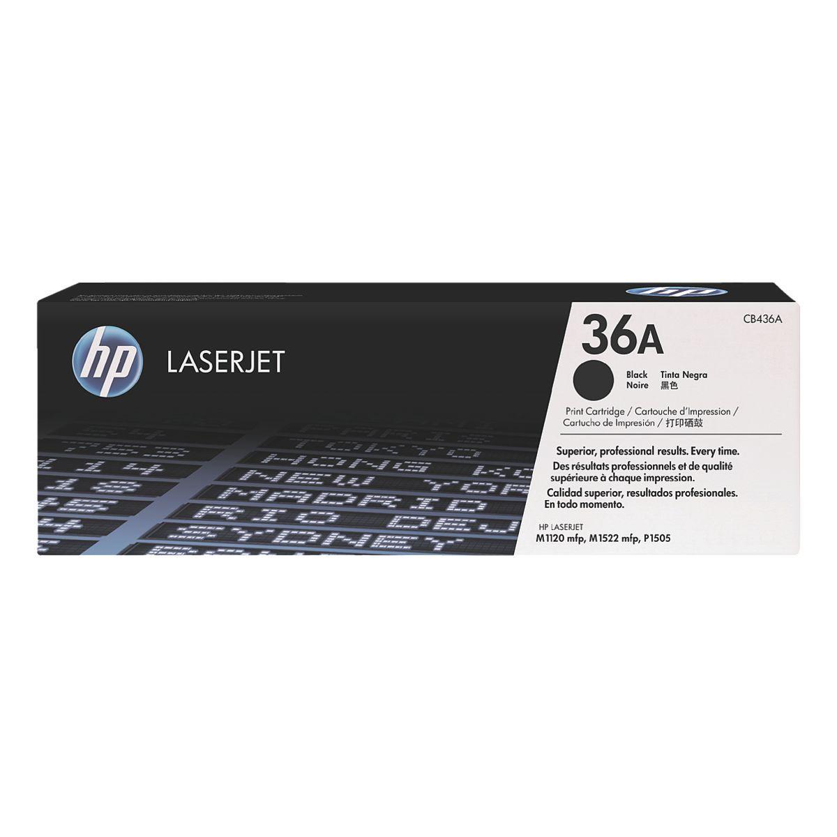 HP 36A LaserJet schwarz (CB436A)