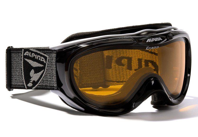 ALPINA SPORT Skibrille, schwarz, Alpina, »Freespirit«, Made in Germany