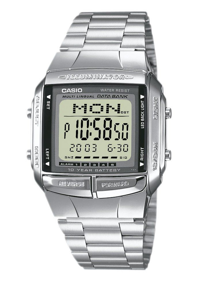 CASIO COLLECTION Casio Collection Chronograph »DB-360N-1AEF«