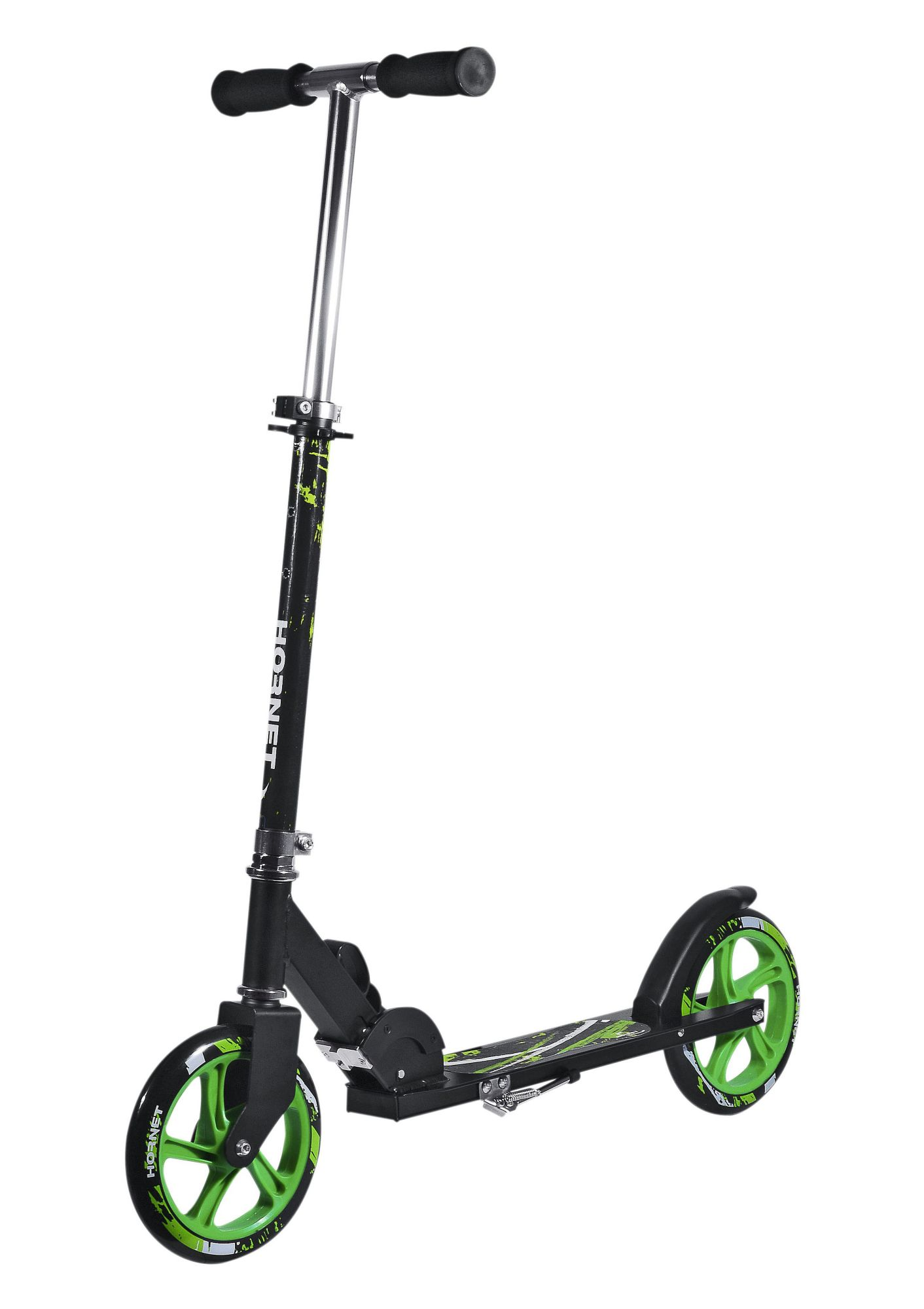 HUDORA Alu-Scooter, Hudora, »Hornet 205«, schwarz-grün