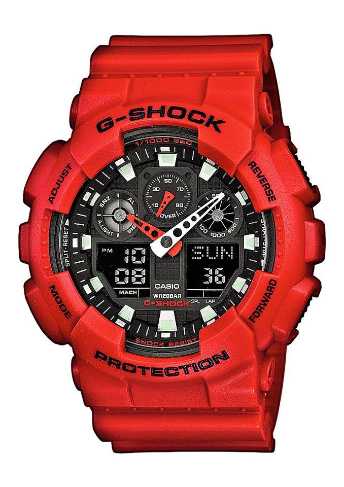 CASIO G SHOCK Casio G-Shock Chronograph »GA-100B-4AER«
