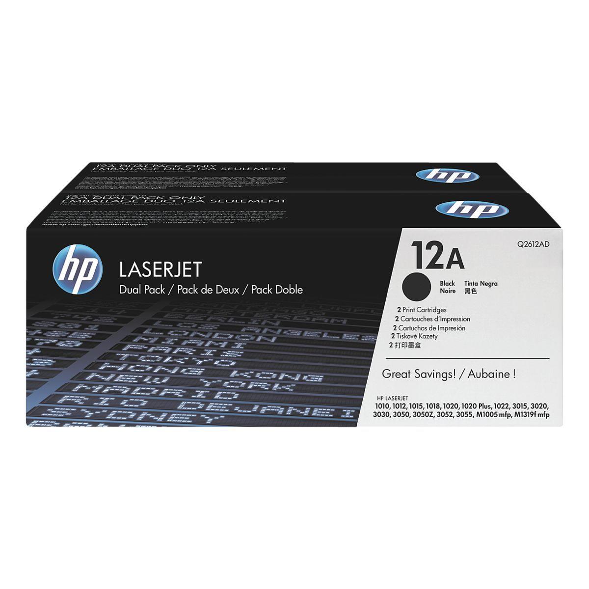 HP 12A LaserJet schwarz (Q2612AD)