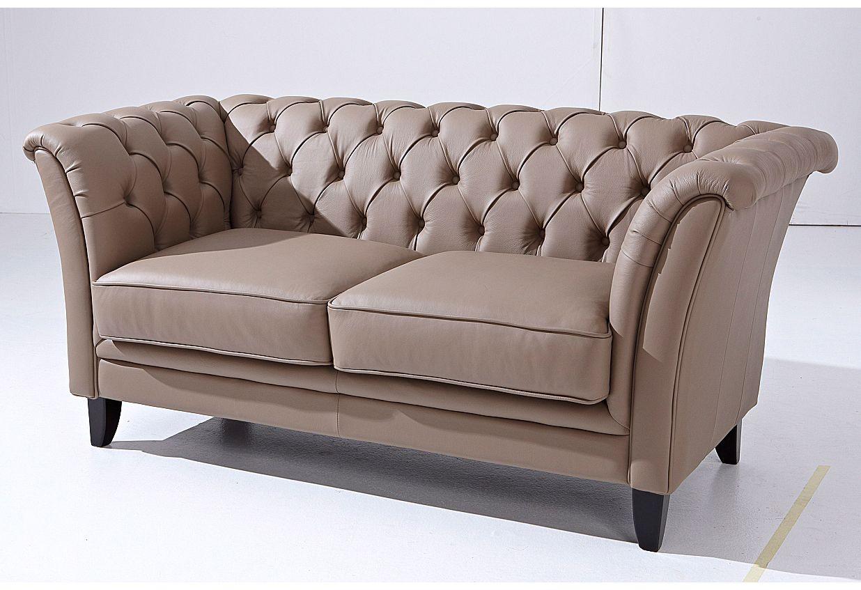 MAX WINZER Max Winzer® Chesterfield Sofa »New Castle«, mit edler Knopfheftung, 2-Sitzer oder 2,5-Sitzer