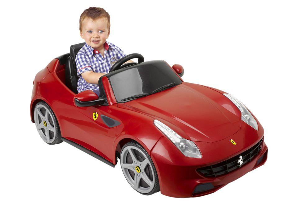FEBER Elektrofahrzeug, Feber, »FF Ferrari«