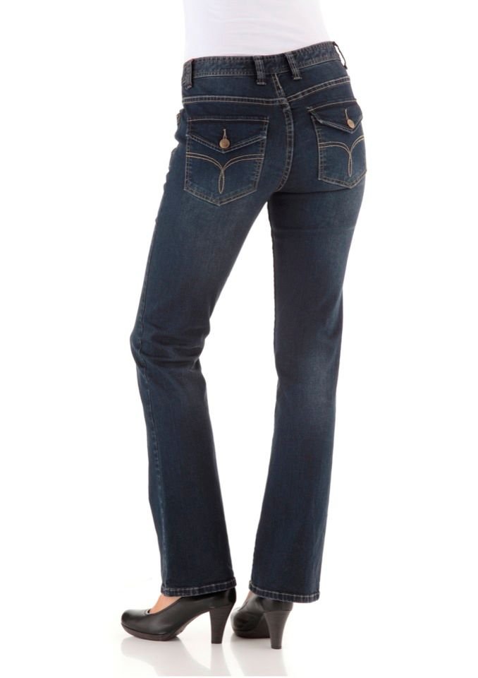 CHEER Cheer Bootcut-Jeans »Petra«
