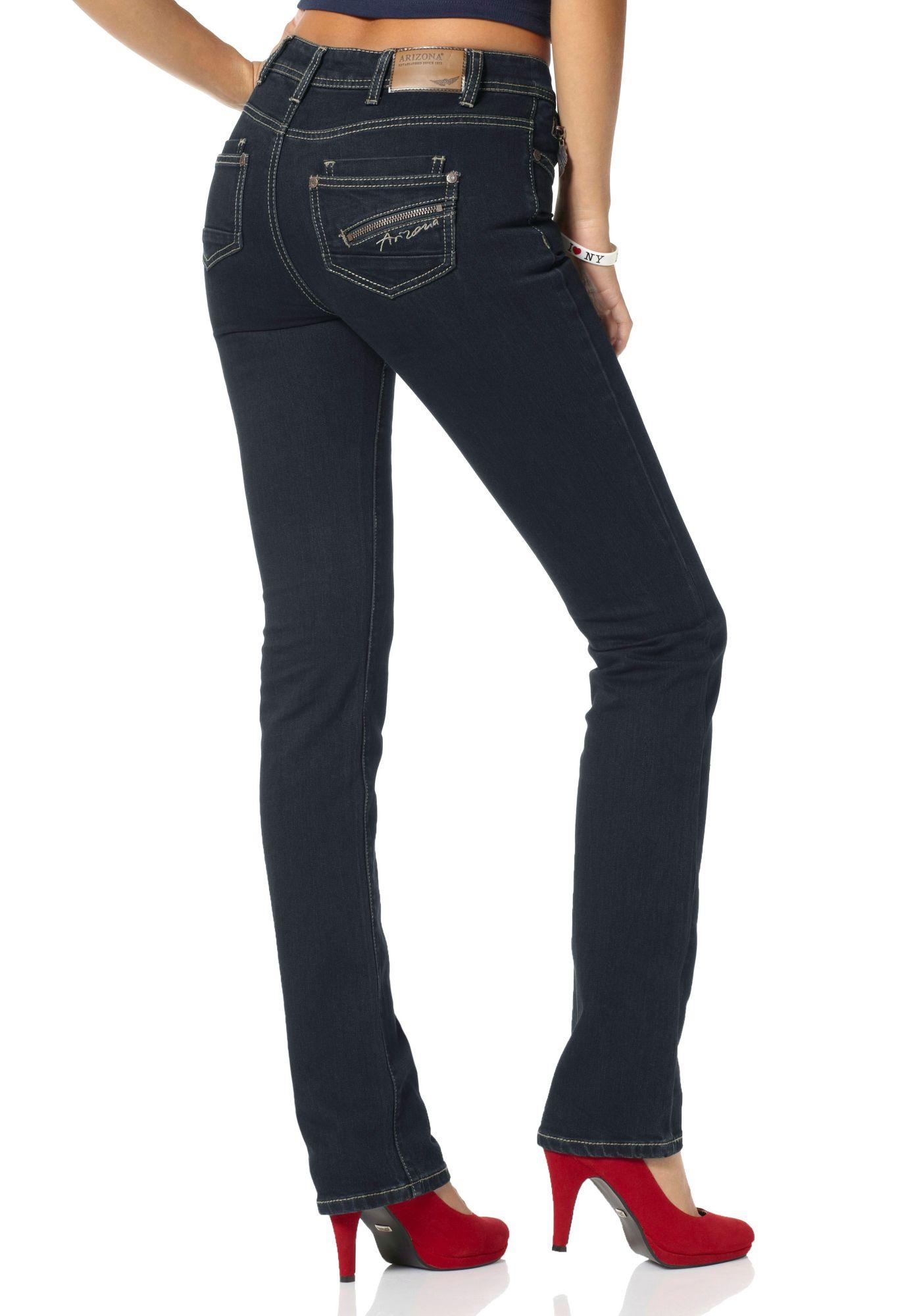 ARIZONA Arizona Gerade Jeans »mit Zippertasche«