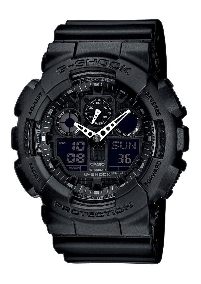 CASIO G SHOCK Casio G-Shock Chronograph »GA-100-1A1ER«