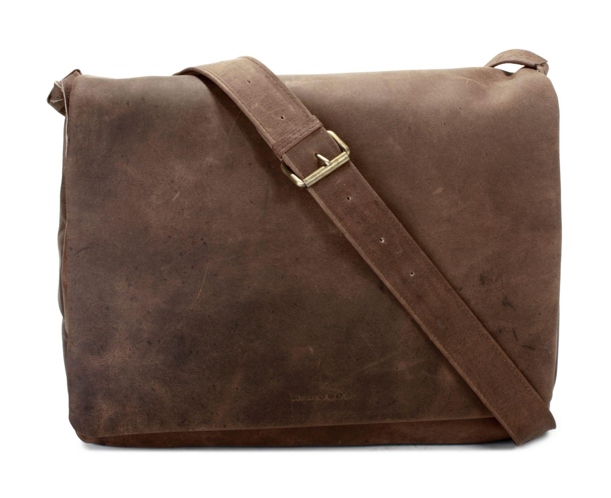 HAROLDS Harold's Leder Messengerbag »Antic«