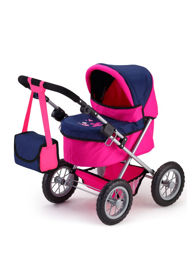 BAYER DESIGN Puppenwagen, Bayer Design, »Trendy«, pink/blau