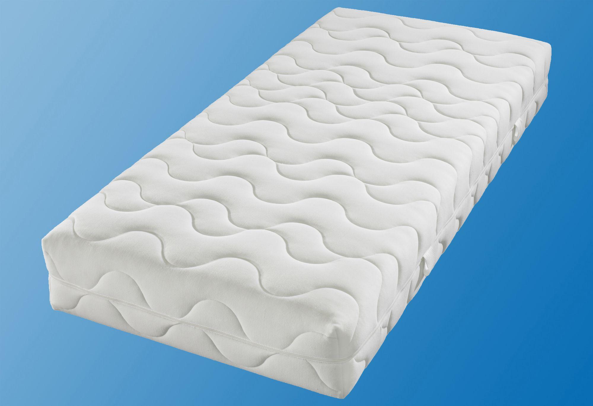 BECO Komfortschaummatratze, BeCo, 25 cm hoch, Raumgewicht: 28, mit speziellem Schulter-Entlastungs-System