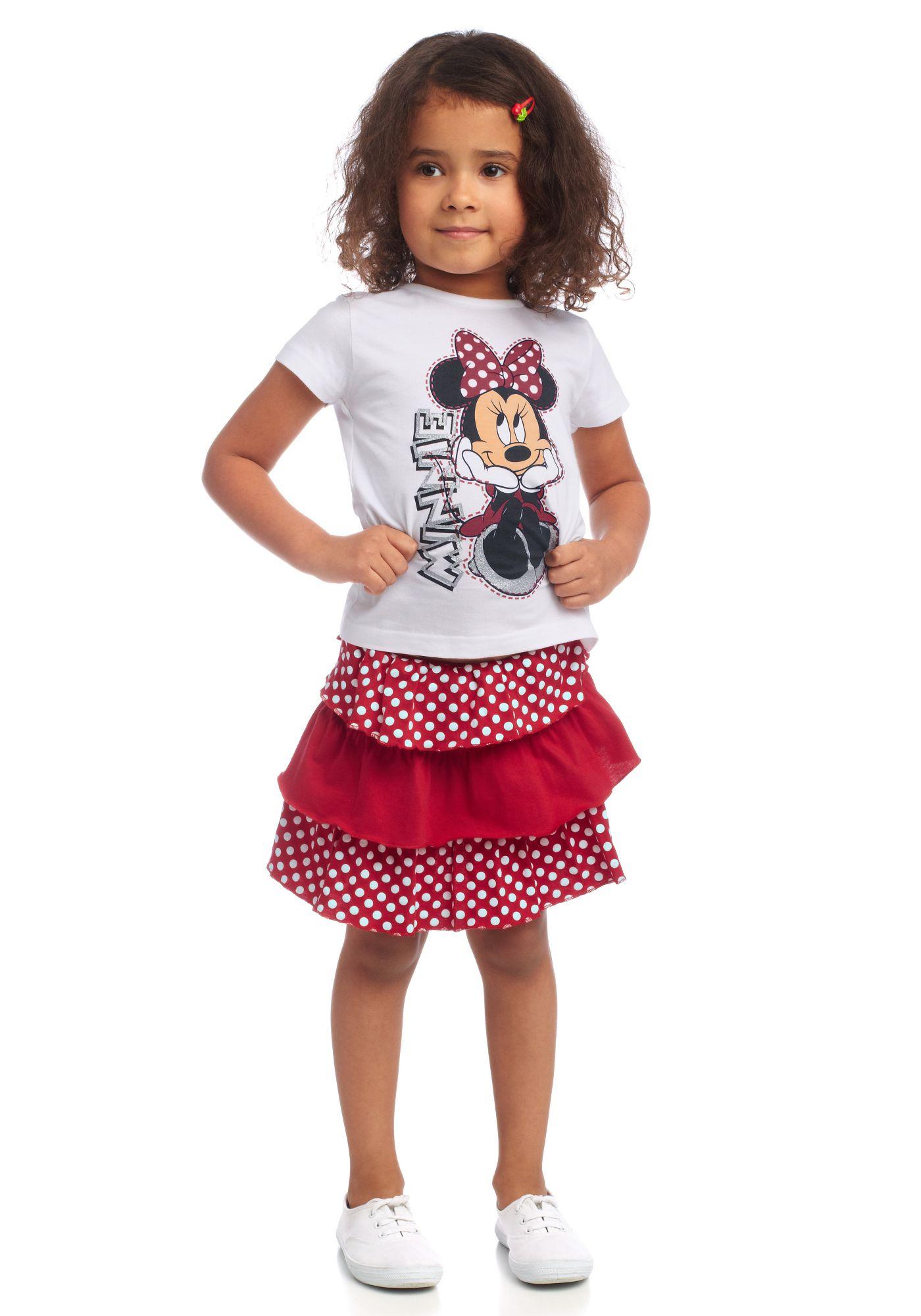DISNEY Disney Shirt & Rock (Set, 2 tlg.)