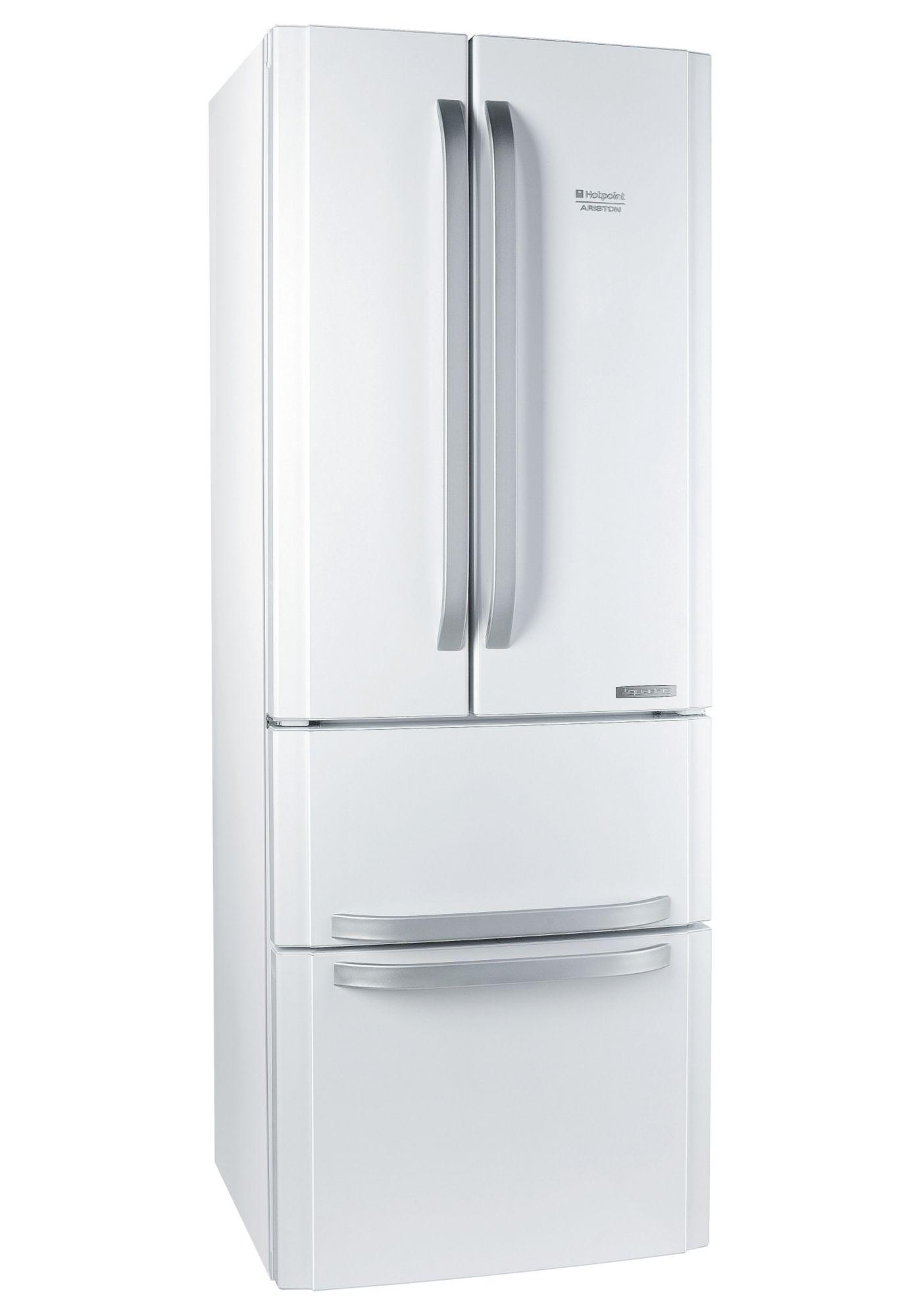 HOTPOINT Hotpoint French Door Kühlschrank E4DAAWC, A+, 195,5 cm hoch, NoFrost