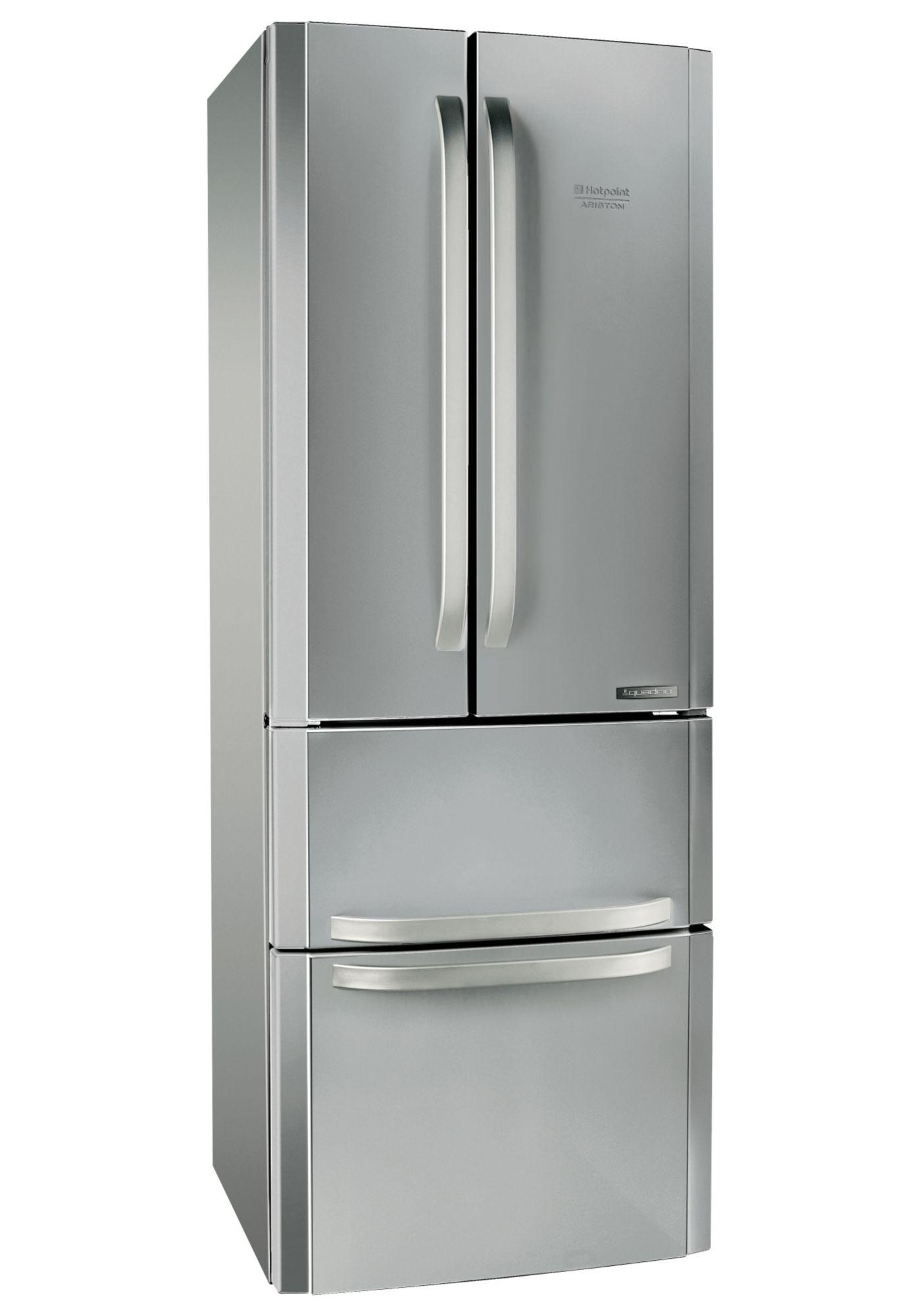 HOTPOINT Hotpoint French Door Kühlschrank E4DAAXC, A+, 195,5 cm hoch, NoFrost