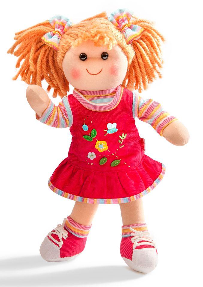 HELESS® Heless® Weichpuppe mit Kleidchen »Puppe Neli«, 32 cm