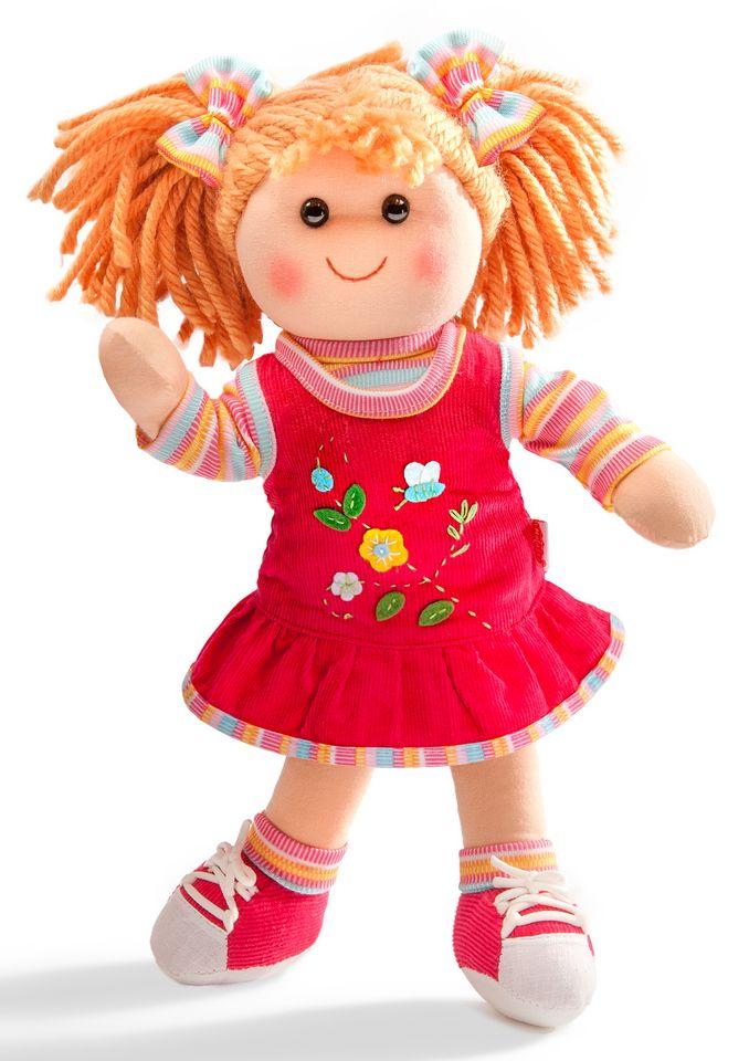 HELESS® Heless® Weichpuppe mit Kleidchen »Puppe Lili« 42 cm
