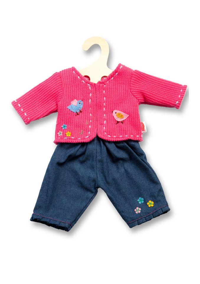 HELESS® Heless® Puppenbekleidung (2tlg.) Größe 28-35 cm o. 35-45 cm »Jacke mit Jeans«