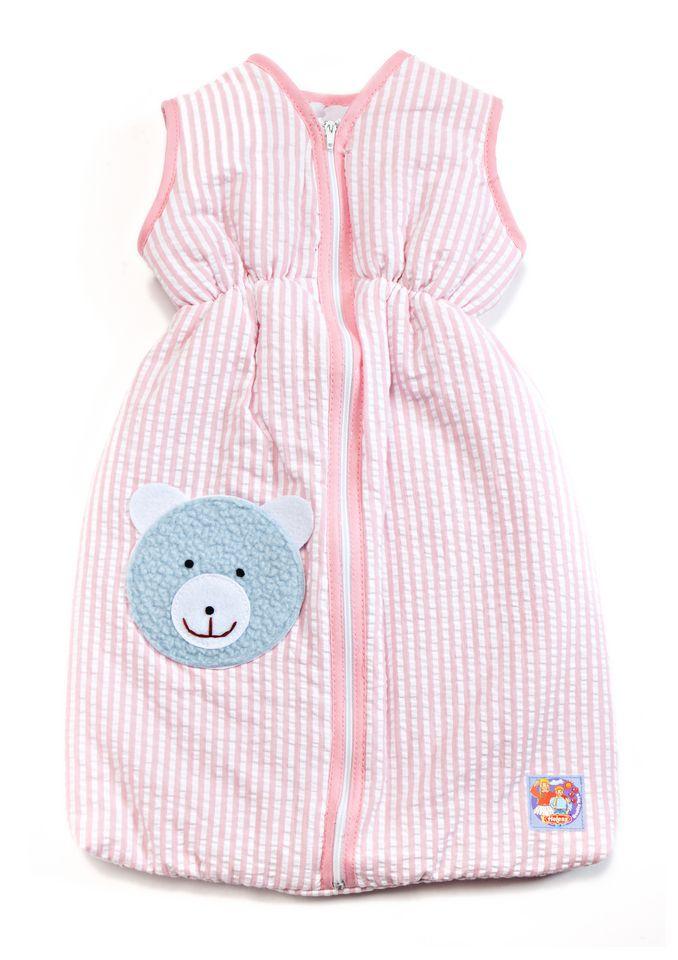 HELESS® Heless® Puppenzubehör »Puppen-Schlafsack 50 cm« rosa