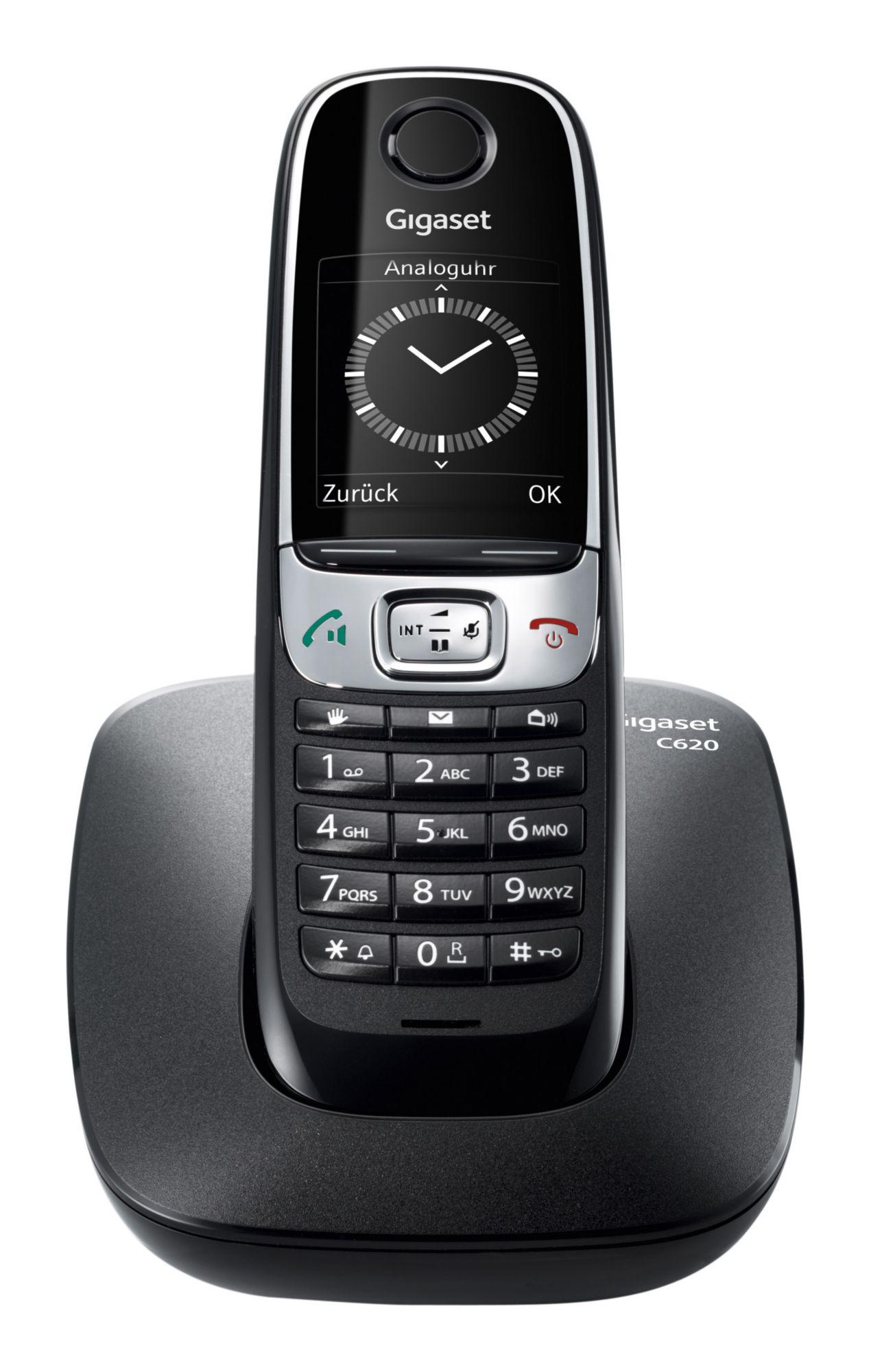 GIGASET C 620 Schnurlostelefon schwarz