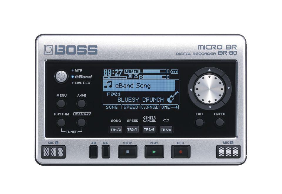 BOSS BY ROLAND Digitales Aufnahmegerät, Boss by Roland, »BR-80«