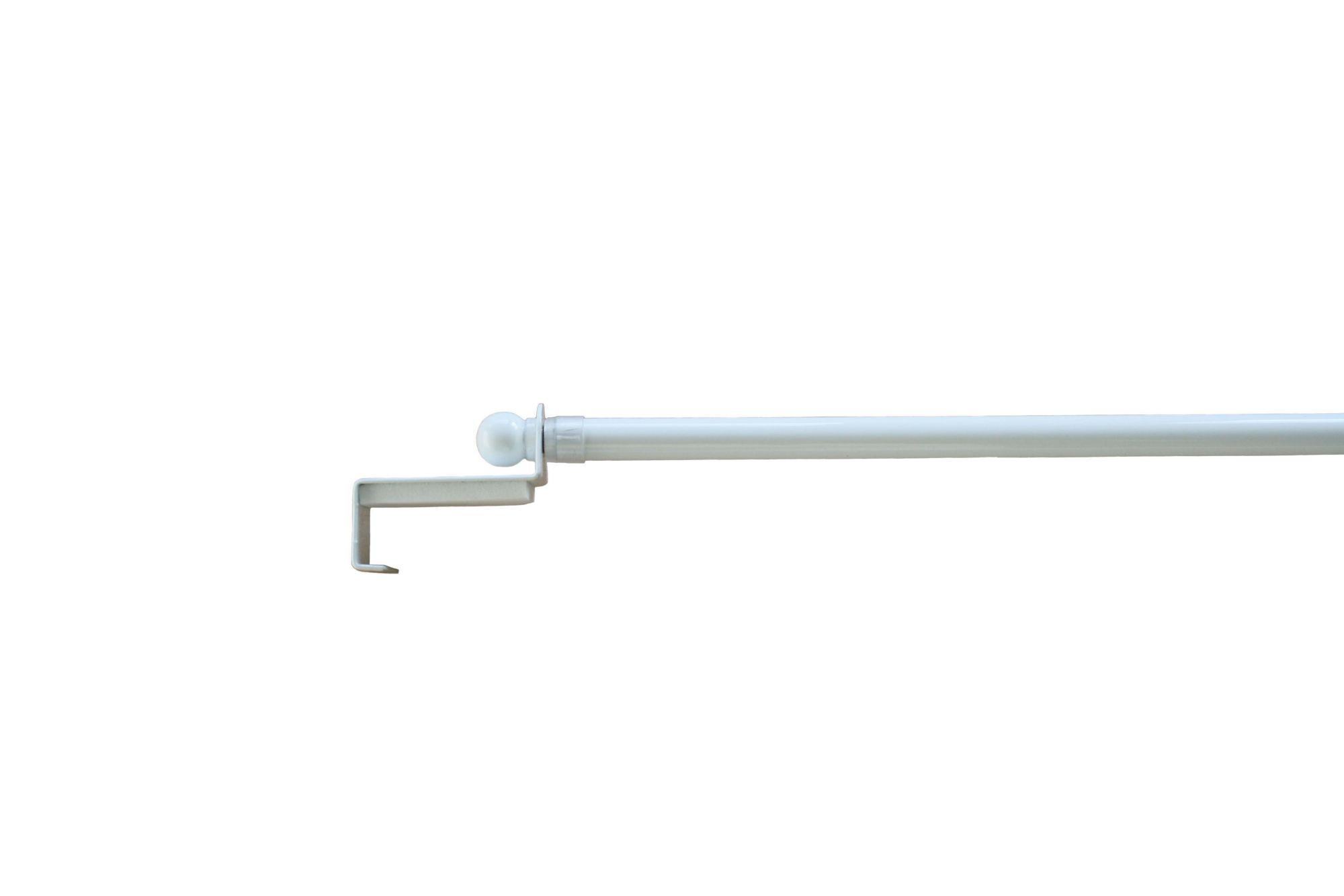 GARESA ausziehbare Scheibenstange Spannfix ø 9 mm, Garesa, »Spannfix Kugel«
