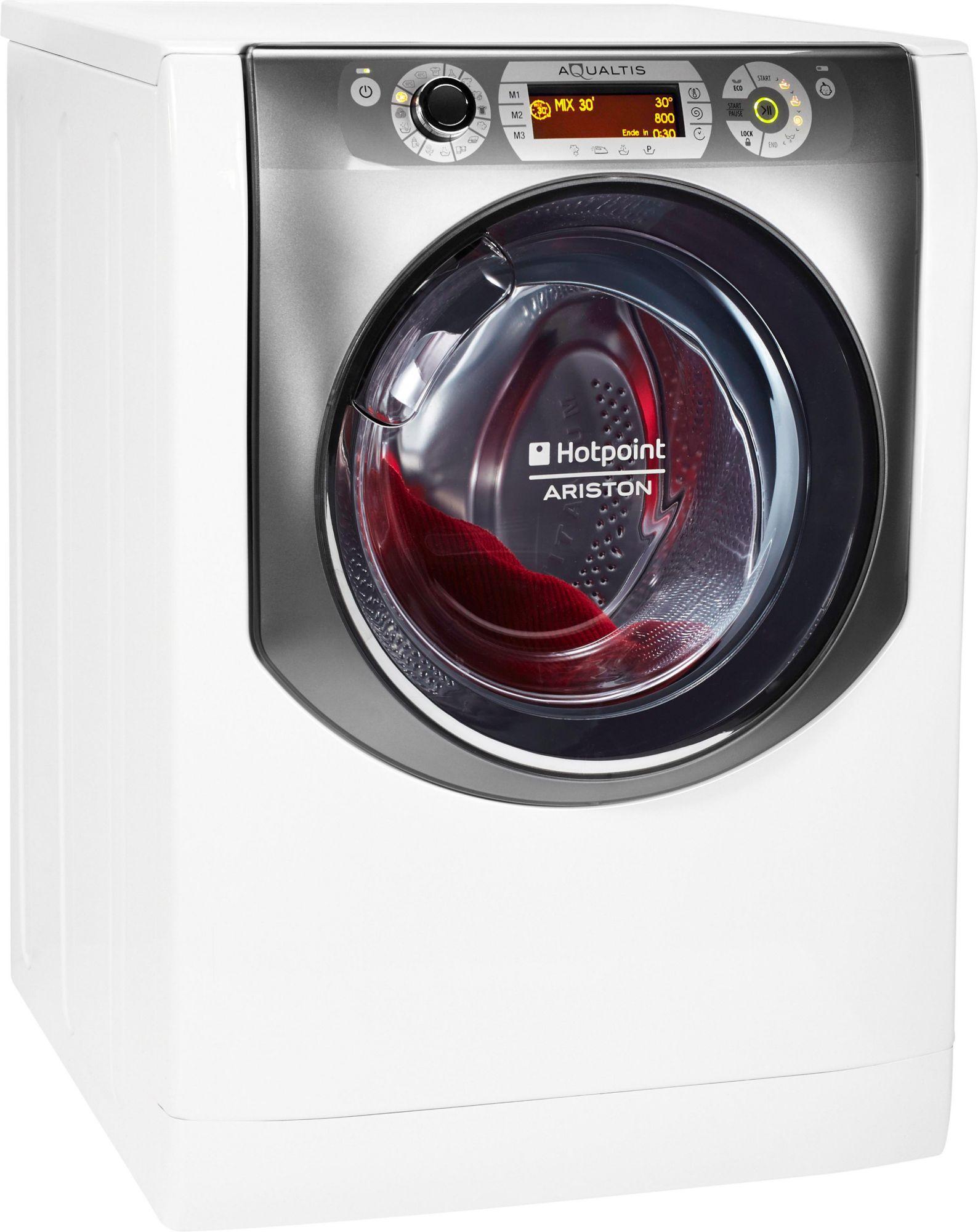 HOTPOINT Hotpoint Waschmaschine AQ113DA 697 EU/A, A+++, 11 kg, 1600 U/Min