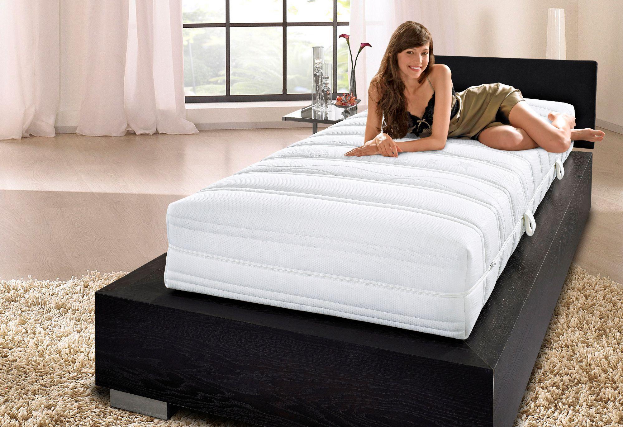 HN8 SCHLAFSYSTEME Doppel-Taschenfederkernmatratze, »Lux«, HN8 Schlafsysteme, 27 cm hoch, 2x435 Federn
