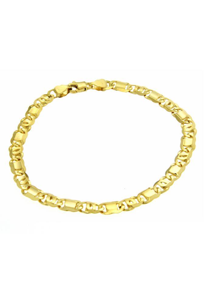 FIRETTI firetti Armschmuck: Armband in Achterpanzerkettengliederung, 6-fach diamantiert