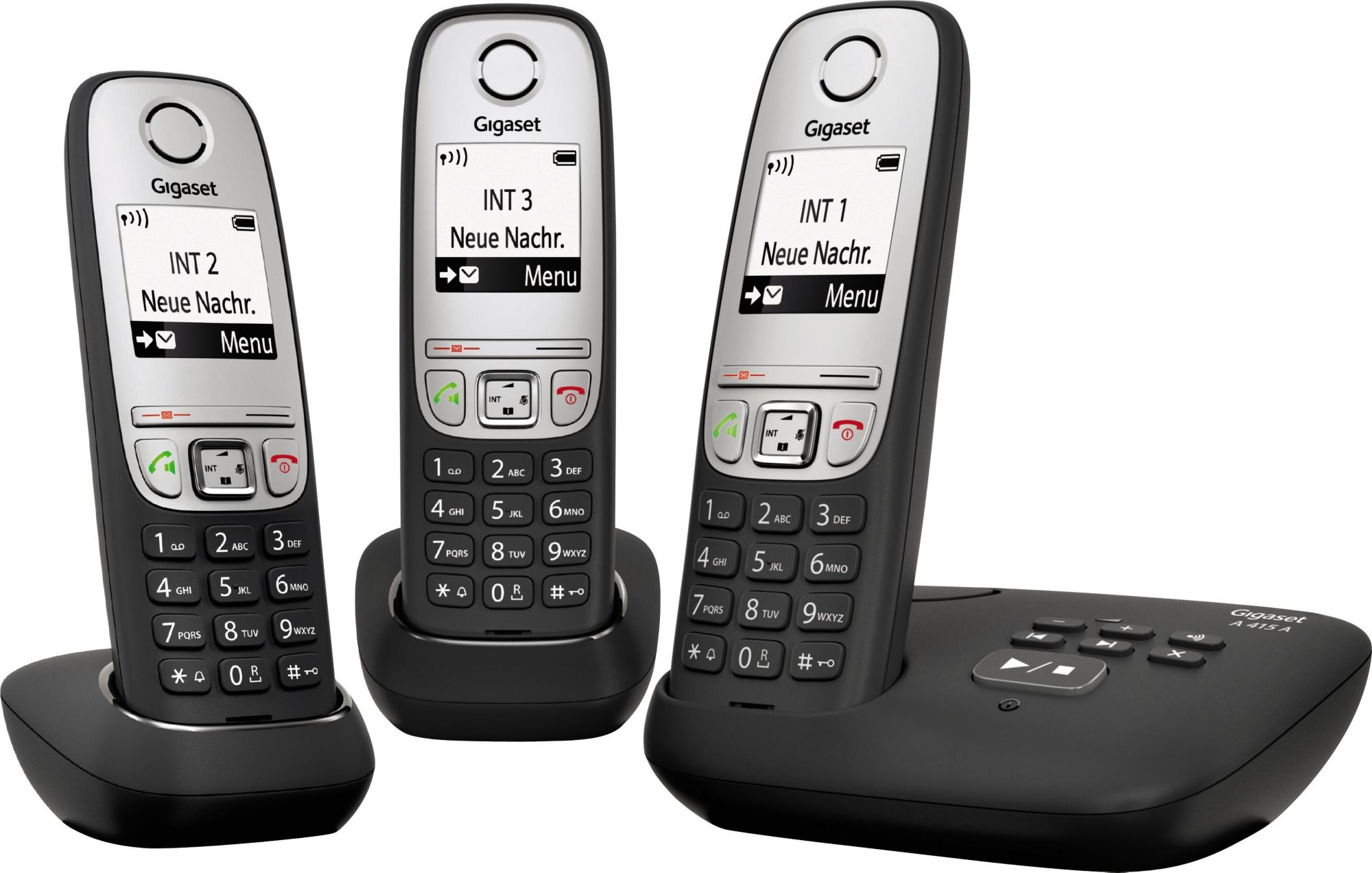 GIGASET A415A Trio, analoges Telefon