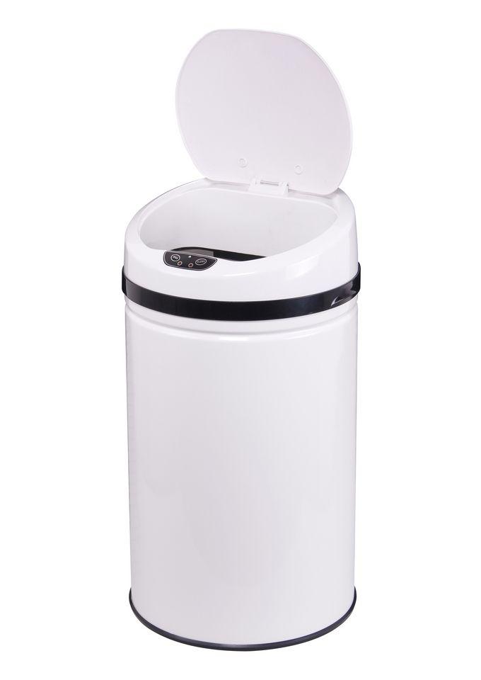 ECHTWERK Edelstahl-Abfalleimer, , »INOX WHITE«, mit Infrarotsensor, 30 Liter
