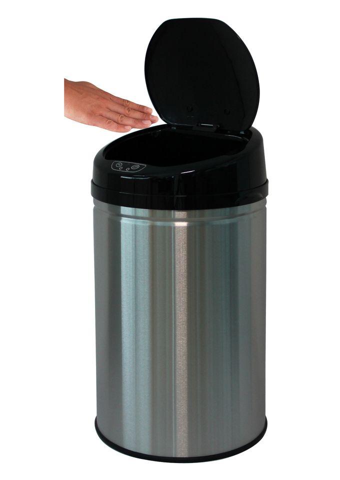 ECHTWERK Edelstahl-Abfalleimer, , »INOX BRUSHED«, mit Infrarotsensor, 30 Liter
