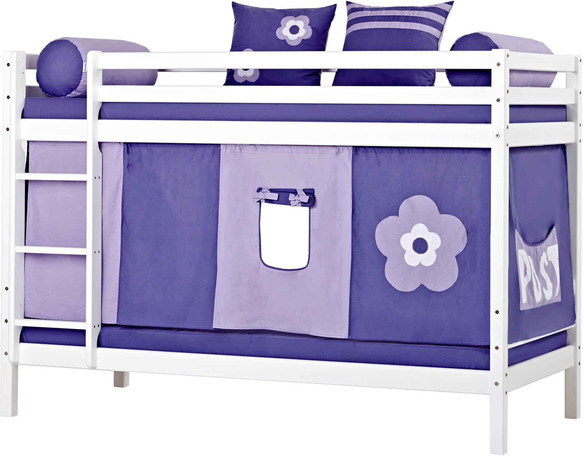 HOPPEKIDS Etagenbett, Hoppekids, »Purple Flower«