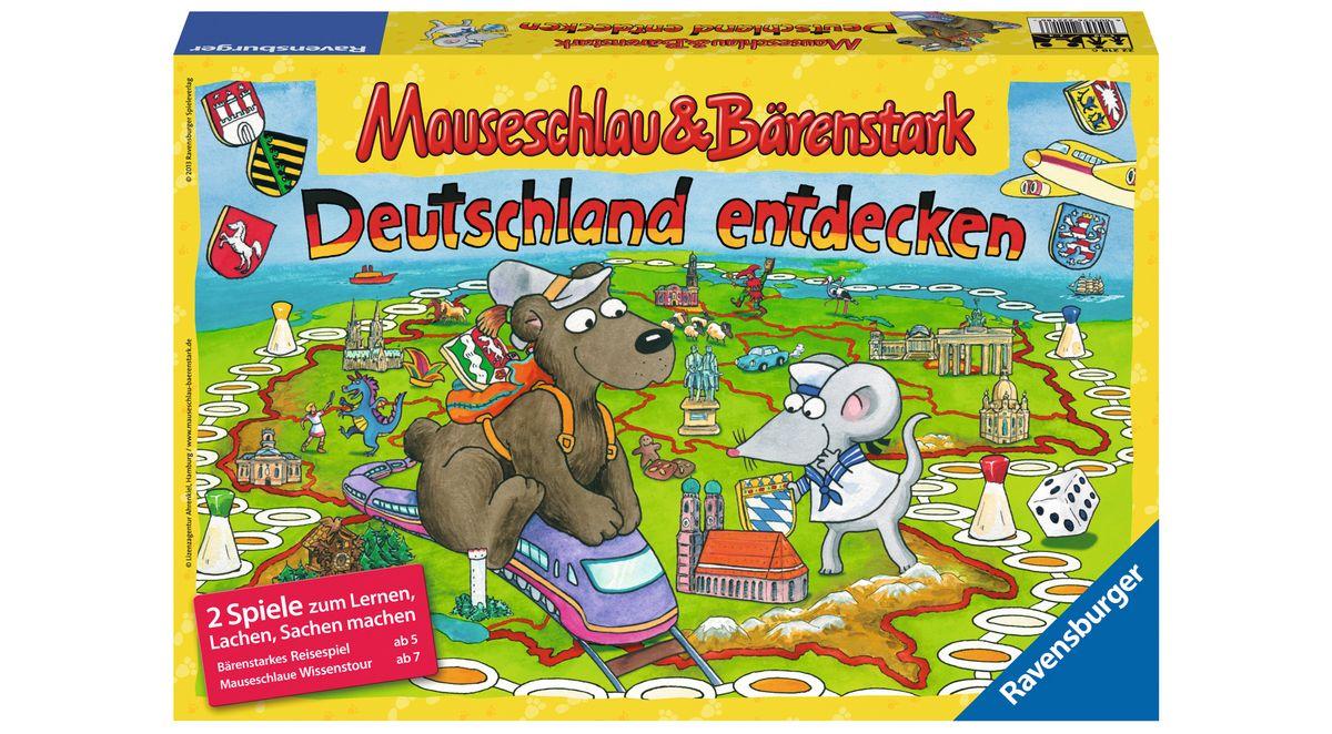 Ravensburger Quizspiel, »Mauseschlau & Bärensta...