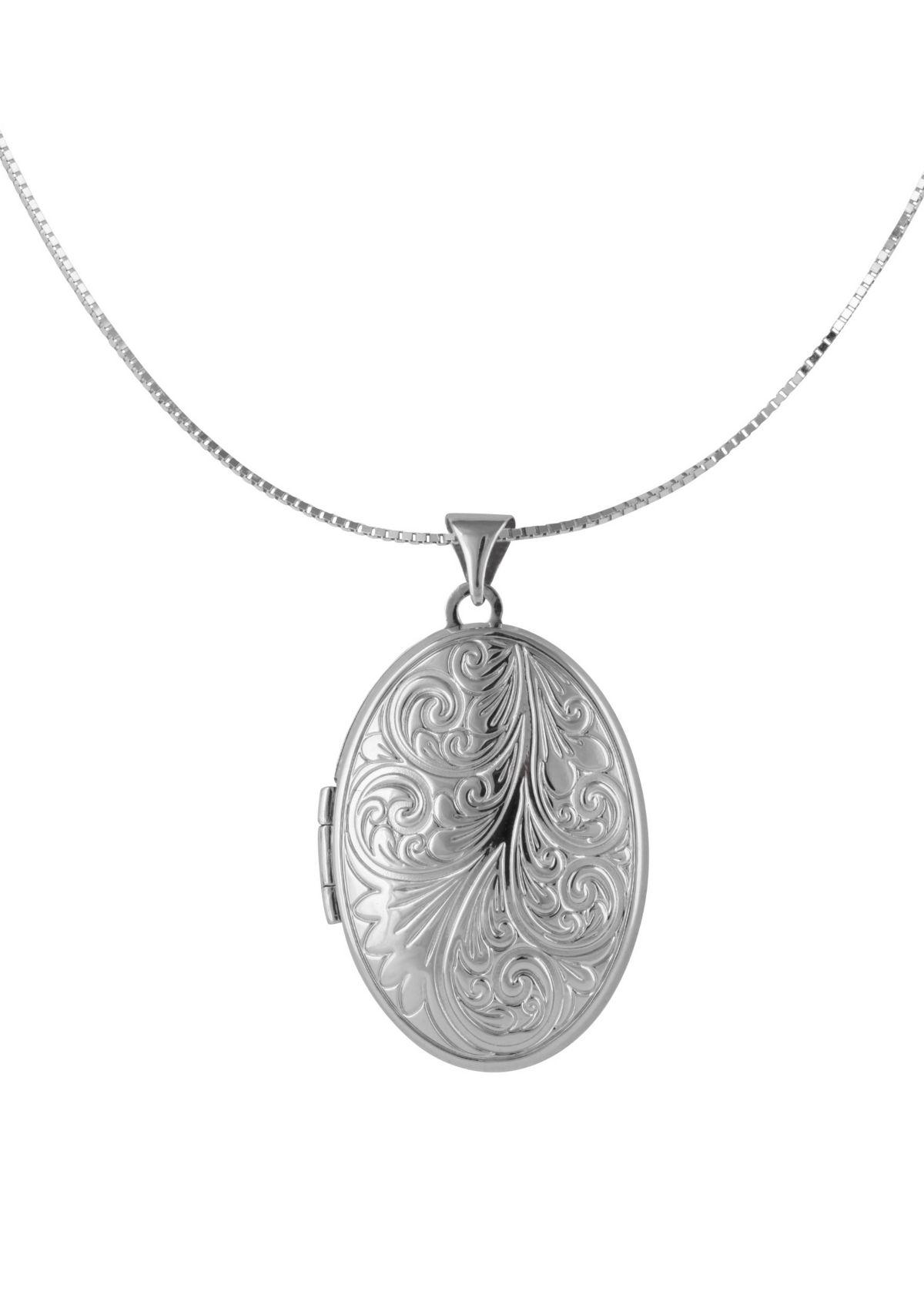 firetti Halsschmuck: Halskette »Medaillon« in V...